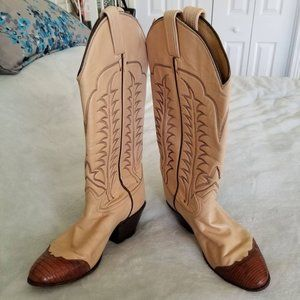 Authentic Tony Lama Women's Cowgirl Boots